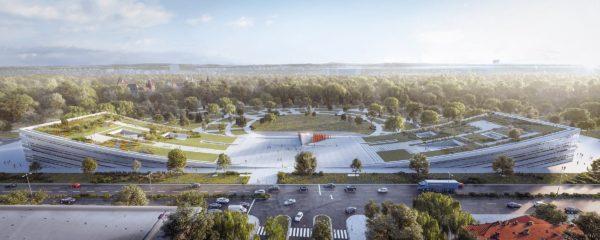 Az új Néprajzi Múzeum látványterve
