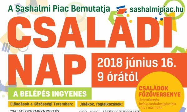 Különleges családi nap a Sashalmi Piacon