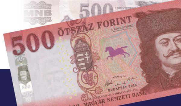Február 1-től kerülnek forgalomba az új 500 forintos bankjegyek