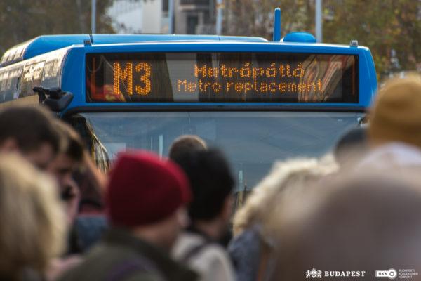 Az M3-as metró felújítása Újpestről Kispestre költözik